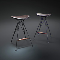 Wire-bar-stool