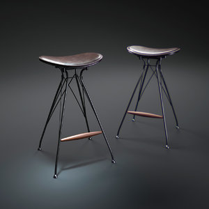 wire-bar-stool max