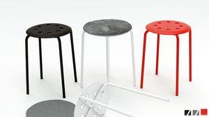 marius stool chairs pillow max