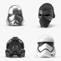 The Force Awakens Helmet Collection
