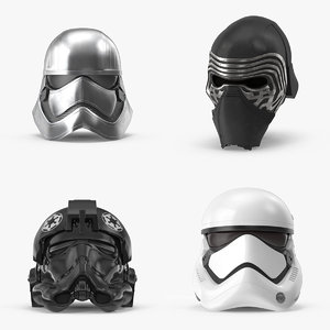 3d force awakens helmet