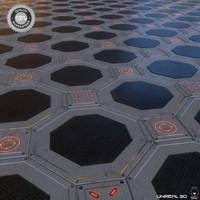 sci-fi floor obj