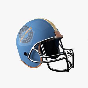 helmet obj