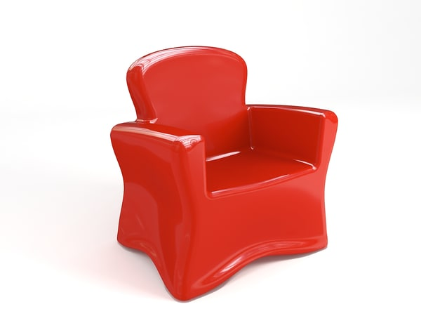 armchair fiberglass ma