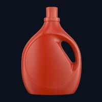 tide bottle 3d model