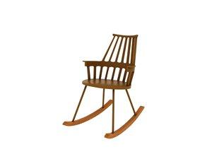 3d model kartell comback chair