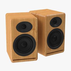 speakers 01 3d max