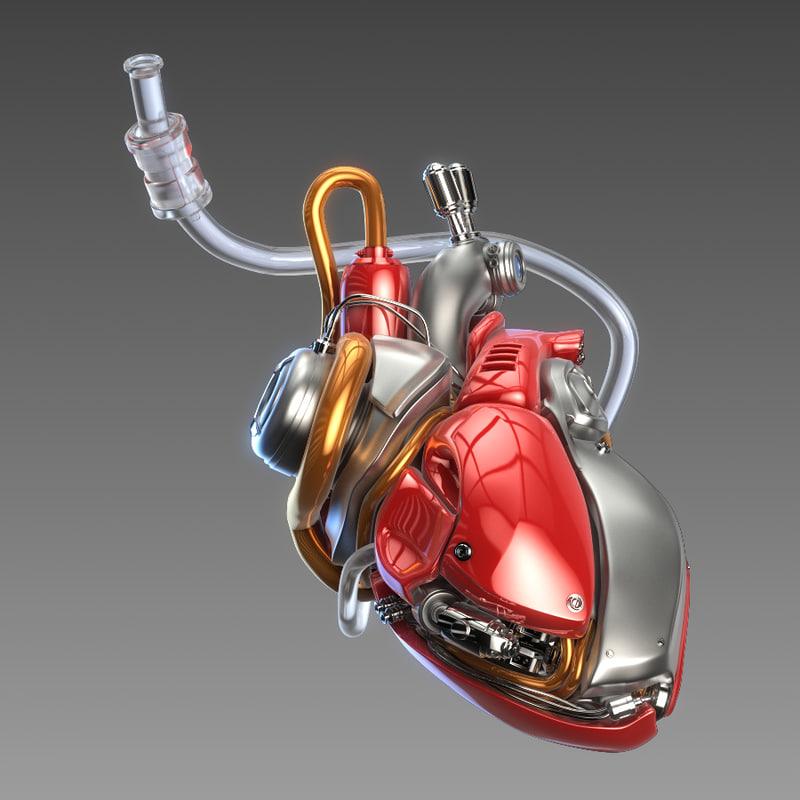 lwo mechanical heart