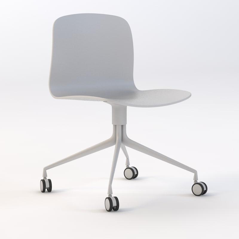 hay desk chair 3d model