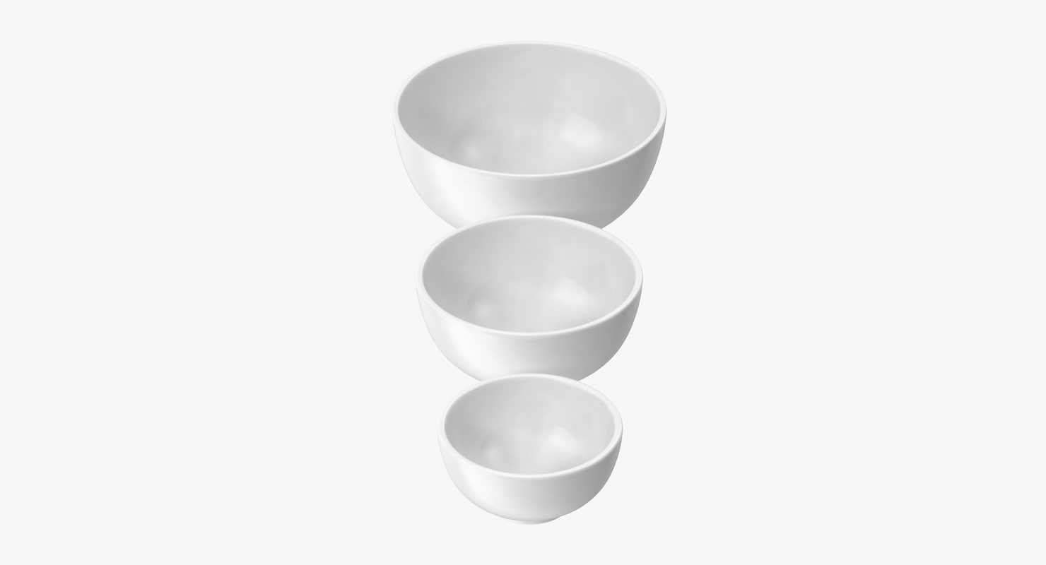 3d ceramic bowl