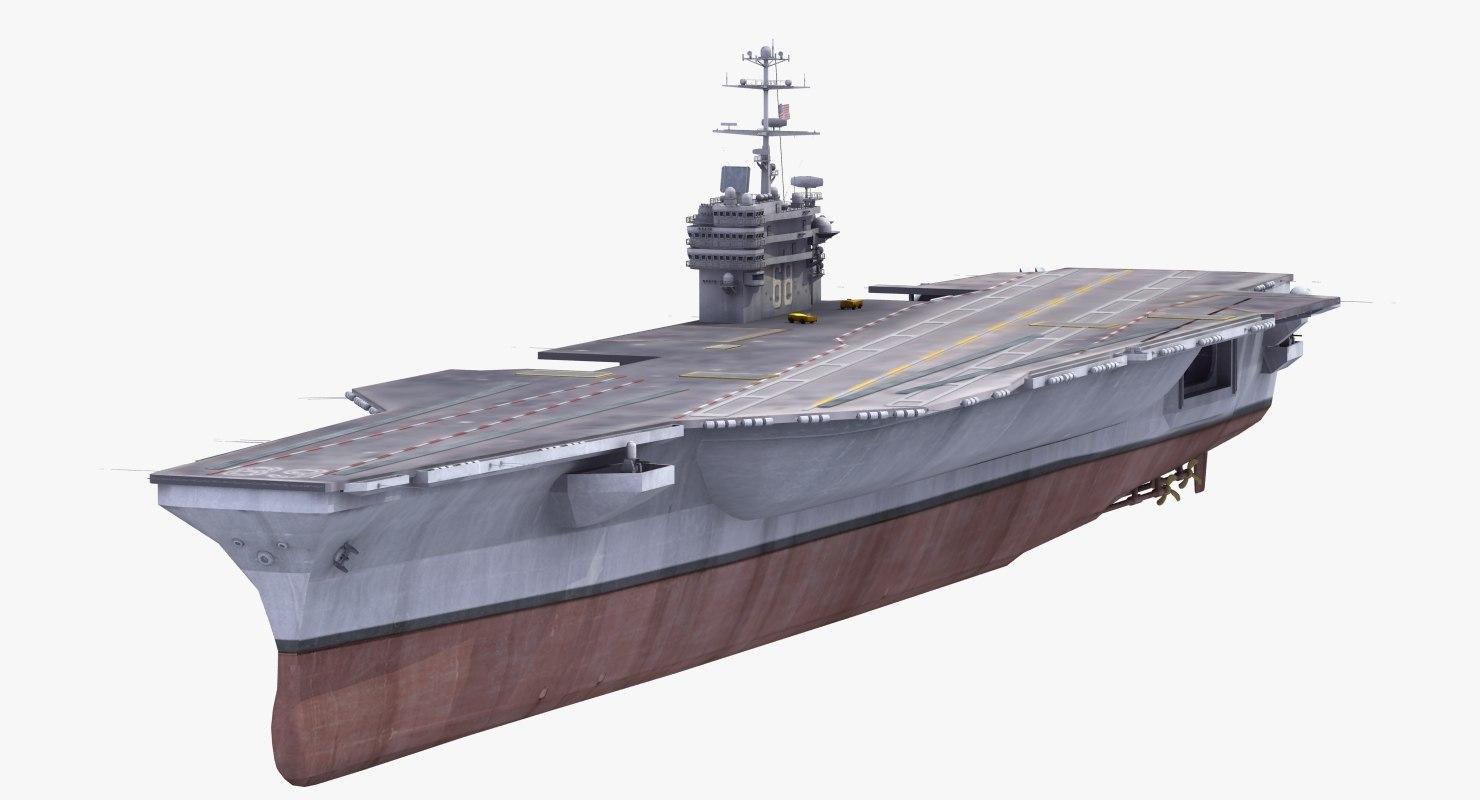 cvn-68 uss nimitz aircraft carrier 3ds