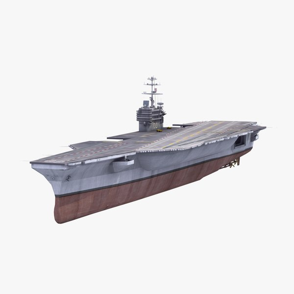 cvn-68 uss nimitz aircraft carrier 3ds