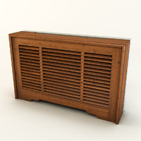 3d model radiator screen 1