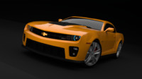 3d model camaro cycles