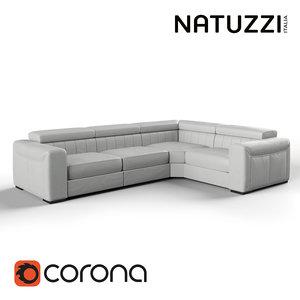 natuzzi editions maestro large max