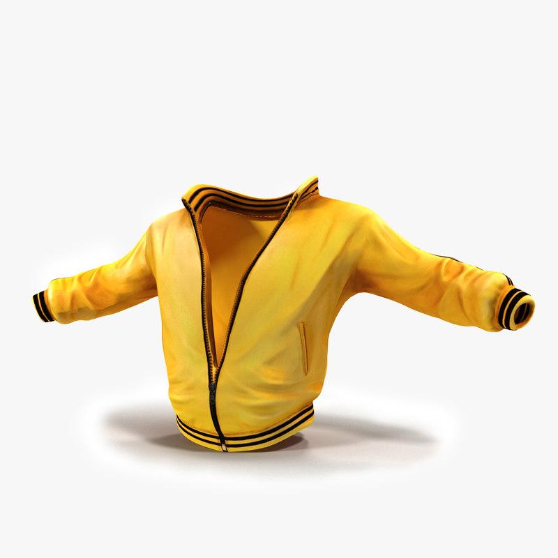 sport jacket 3d obj