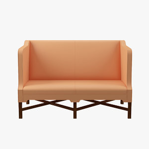 kk41180 sofa sides kaare klint 3ds