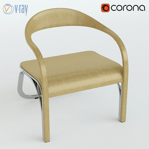 3d fettuccini chair single