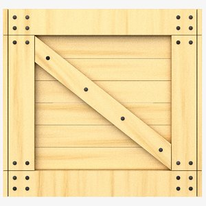 dxf wooden crate