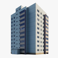Corner module of residential building