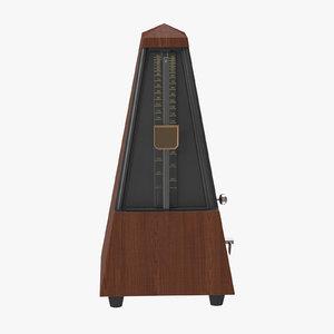 metronome time 3d c4d