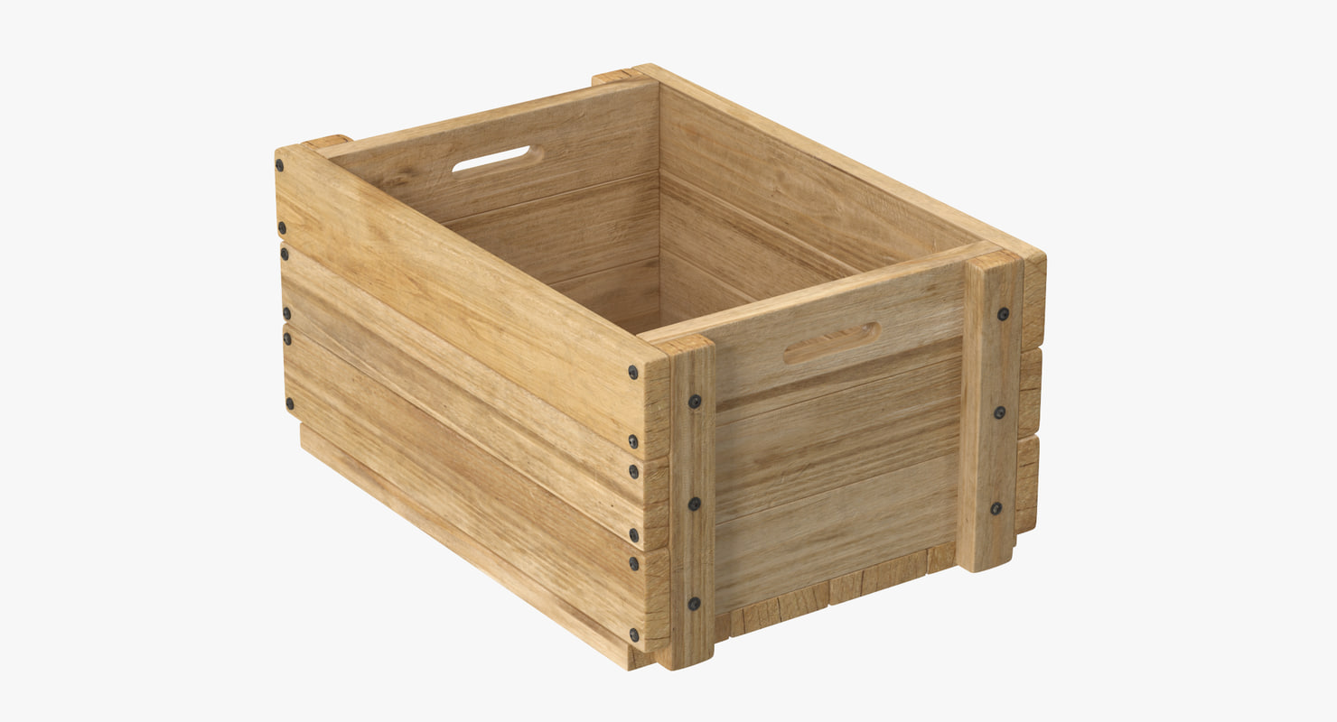 max wooden fruit crate