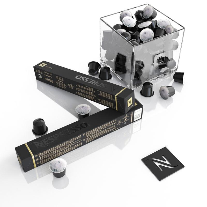 nespresso capsules 3ds
