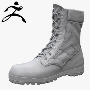 mcrae army boot zbrush 3ds