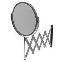 telescopic mirror