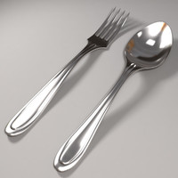fork spoon 3ds