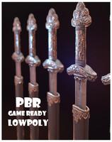 Sword PBR LowPoly