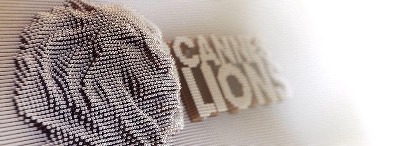 3d model cannes lion logo