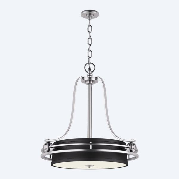 chandelier gotham 3d model
