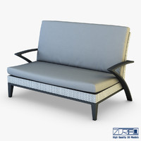 max rexus sofa white cloth