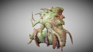 3d fbx ready creature insect