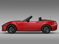 3d mazda roadster nd 2016
