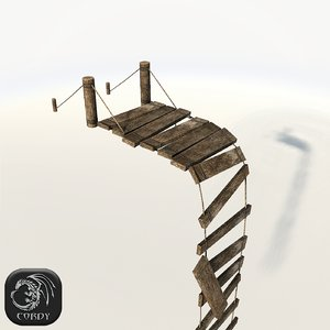 realistic broken bridge max