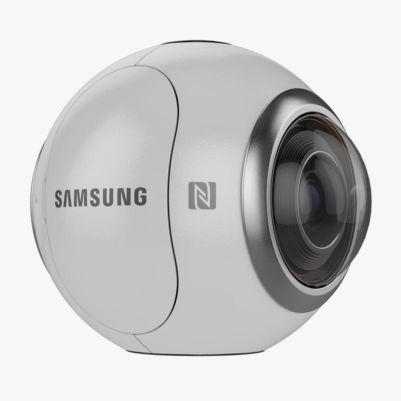 3ds samsung gear 360 camera