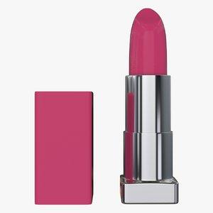 3d lipstick lips model