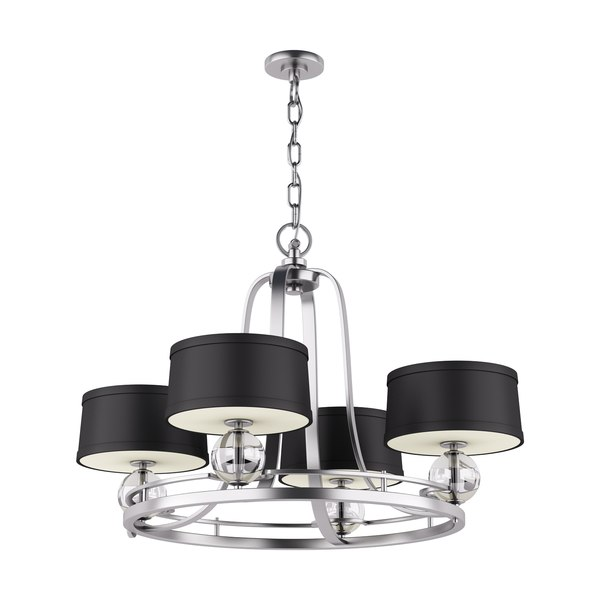chandelier gotham 4 lamps max