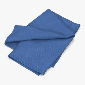 3d model towel 6