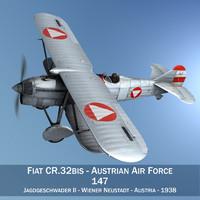 fiat cr - austrian 3d model