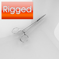 Rigged Surgical Scissor_04
