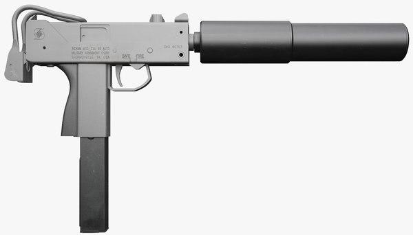 3d ingram submachine gun