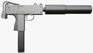 3d ingram submachine gun