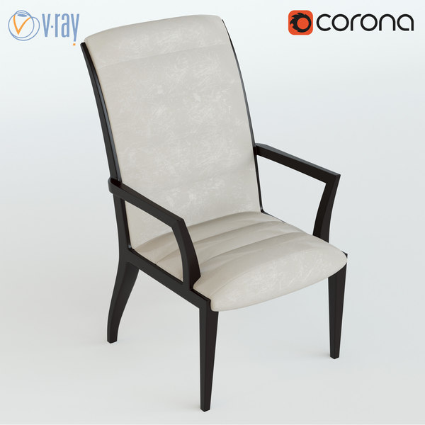 3d fiona chair model