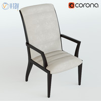 3d fiona chair model