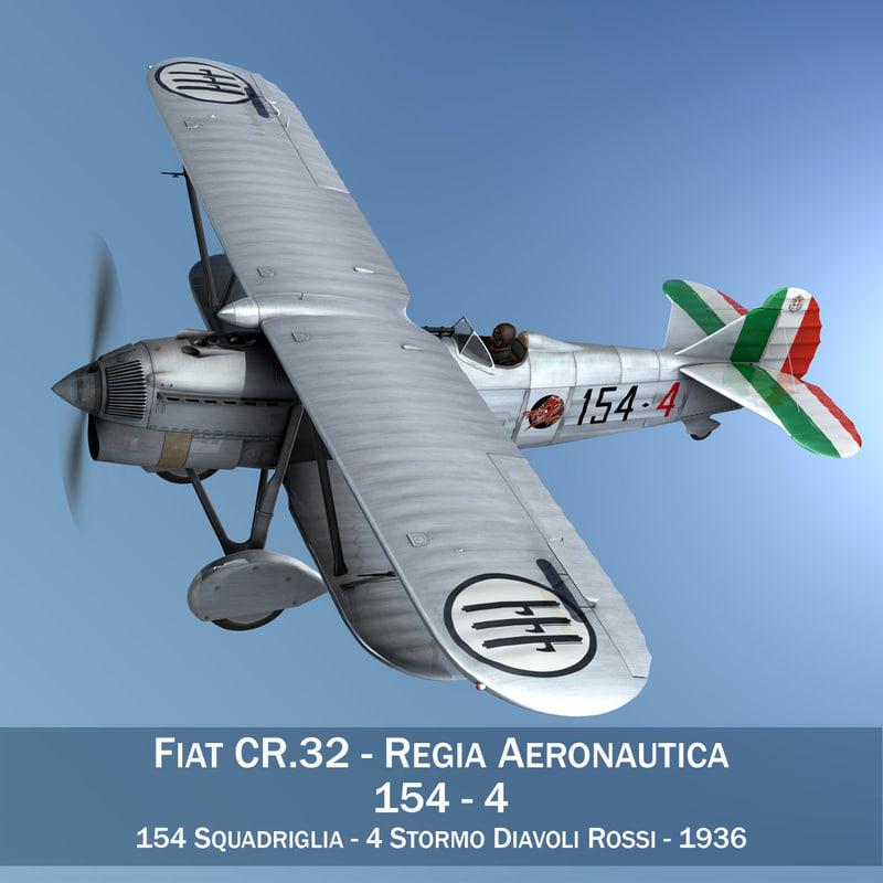fiat cr - italy 3d model