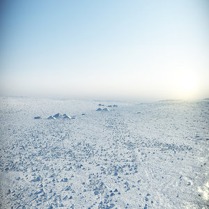 3d arctic surface model