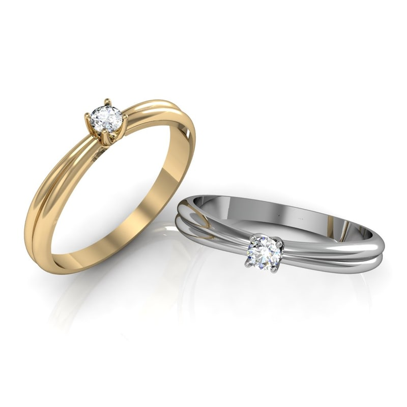 3d engagement rings model